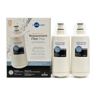F-601R InSinkErator Instant Hot Water Dispenser Replacement Filter Cartridge (2-Pack)