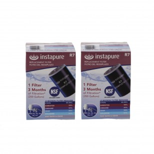 R7 Instapure CompletePlus Faucet Filter Replacement Cartridge (2-Pack)