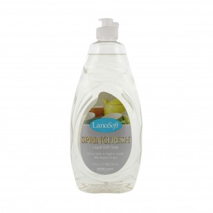 Lanosoft SpringFresh Liquid Dish Soap (LSSD12)