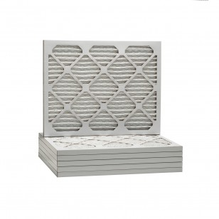 24x25x1 Merv 8 Universal Air Filter By Tier1 (6-Pack)