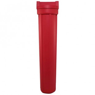 150111 Pentek High Temperature Filter Housing - Red