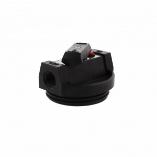 154134 Pentek Water Filtration System Housing Cap – (Black, 0.75 Inch)