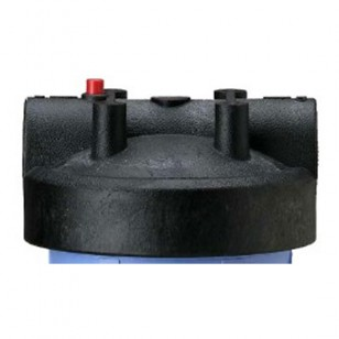 154167 Pentek Filter Housing Cap with Pressure Relief Button - Black