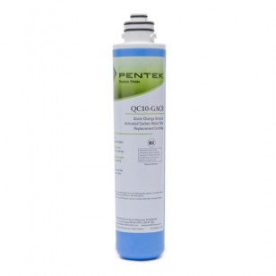 QC10-GACR Pentek Undersink Quick-Change Replacement Filter Cartridge