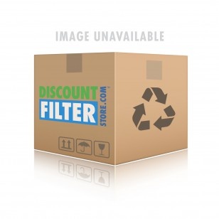 10 inch Slim Polypropylene Filter Housing with Pressure Release and Carbon Filter Kit by Tier1 (3/4 inch Inlet/Outlet)