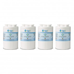 12527304 Amana Comparable Refrigerator Water Filter Replacement by Tier1 (4-Pack)
