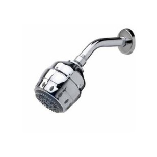 1-20006-WC Seychelle Royal 5-way Wall Mount Shower Head - Chrome