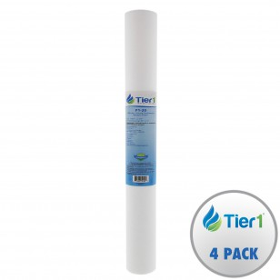P1-20 Pentek Comparable Sediment Water Filter by Tier1 (4-Pack)