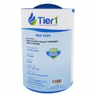 817-0050, 03FIL1400, 25252, 378902 & PWW50 Comparable Pool and Spa Filter by Tier1