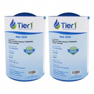 Tier1 brand replacement for 817-0050, 03FIL1400, 25252, 378902 & PWW50 (2-Pack)