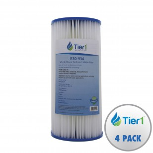 R30BB Pentek Comparable Whole House Water Filter by Tier1 (4-Pack)