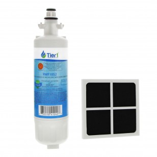 LT700P LG Comparable Refrigerator Water Filter by Tier1  and LG LT120F Fresh Air Filter