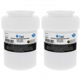 MWF GE Comparable Refrigerator Water Filter Replacement by Tier1 Plus (2-Pack)