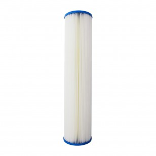 20 inch x 4.5 inch Pleated Sediment Water Filter by Tier1 (1 Micron)