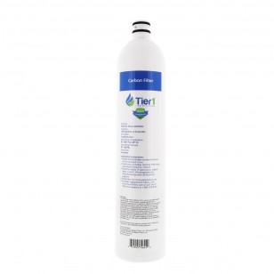 US-UF-100-CBRF 4-Stage Ultra-Filtration Hollow Fiber Drinking Water System Replacement Carbon Filter by Tier1