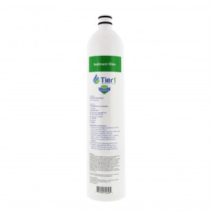 US-UF-100-SDRF-1 4-Stage Ultra-Filtration Hollow Fiber Drinking Water System Replacement Sediment Filter by Tier1 (1 Micron)