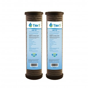 Pentek C1 Comparable Carbon Block Water Filter by Tier1 (2-Pack)
