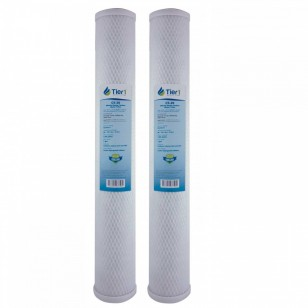 C1-20 Pentek Comparable Whole House Water Filter by Tier1 (2-Pack)