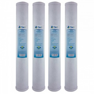 C1-20 Pentek Comparable Whole House Water Filter by Tier1 (4-Pack)