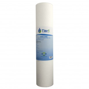 DGD-2501-20 Pentek Comparable Whole House Sediment Water Filter by Tier1