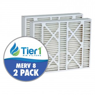DPFI20X21X5 Tier1 Replacement Air Filter - 20X21X5 (2-Pack)