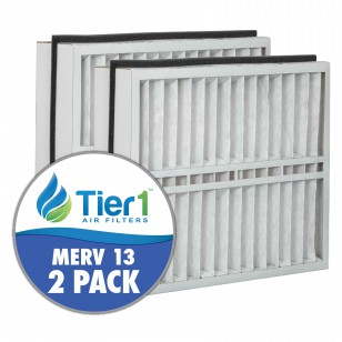 DPFT21X27X5AM13DAD Tier1 Replacement Air Filter - 21X27X5 (2-Pack)
