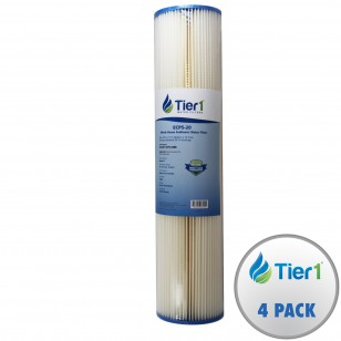 ECP5-20 Pentek Comparable Whole House Sediment Water Filter by Tier1 (4-Pack)