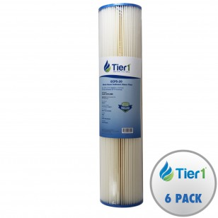 ECP5-20 Pentek Comparable Whole House Sediment Water Filter by Tier1 (6-Pack)