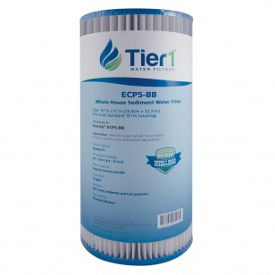 ECP5-BB Pentek Comparable Whole House Sediment Water Filter by Tier1 (4-Pack)