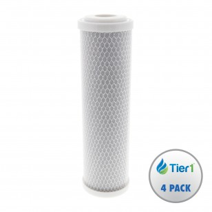 EPM-10 Pentek Comparable Undersink Filter Replacement Cartridge by Tier1 (4-Pack)