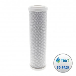 EPM-10 Pentek Comparable Undersink Filter Replacement Cartridge by Tier1 (50-Pack)
