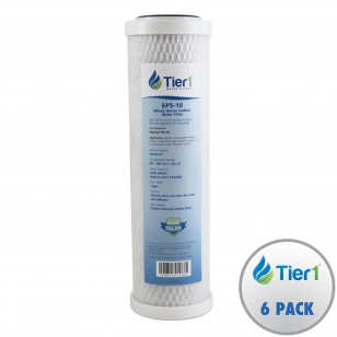 EP-10 Pentek Comparable Whole House Water Filter by Tier1 (6-Pack)