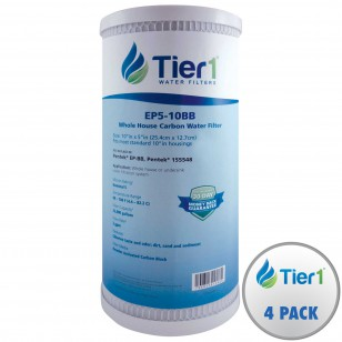 EP5-10BB Tier1 Carbon Block Water Filter (4-Pack)