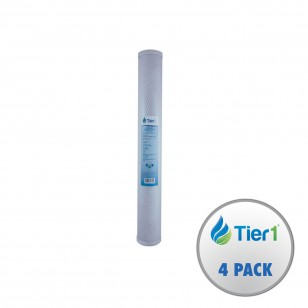 EP-20 Pentek Comparable Replacement Filter Cartridge by Tier1 (4-Pack)