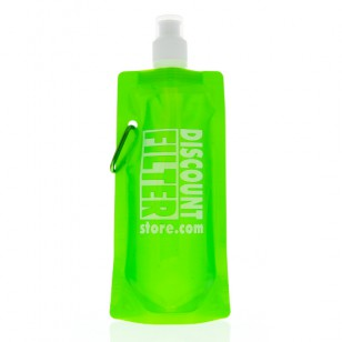 Funbottle-dfs-green Tier1 Water Bottle - Green