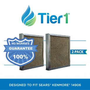 14906 Sears Kenmore Comparable Humidifier Wick Filter by Tier1 (2-Pack)