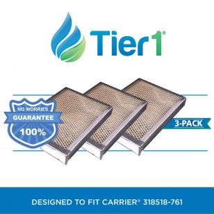 318518-761 Carrier Comparable Humidifier Replacement Evaporator Pad by Tier1 (3-Pack)