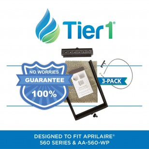 Tier1 Comparable Humidifier Maintenance Kit for Aprilaire 560 series (3-Pack)