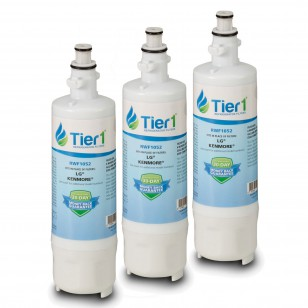 LFX31925 Comparable Refrigerator Water Filter Replacement by Tier1 (3-Pack)
