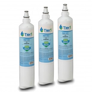 LT600P-B Comparable Refrigerator Water Filter Replacement by Tier1 (3-Pack)