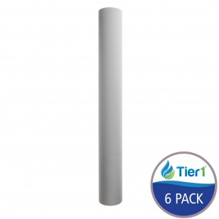 Pentek PD-10-20 Comparable Sediment Water Filter by Tier1 (6-Pack)