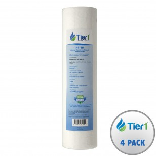 P1 Pentek Comparable Whole House Sediment Water Filter by Tier1 (4-Pack)