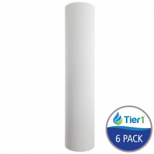 P1-20BB Sediment Water Filter by Tier1 (6-Pack)