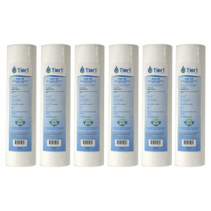 P20 Pentek Comparable Whole House Sediment Water Filter by Tier1 (6-Pack)