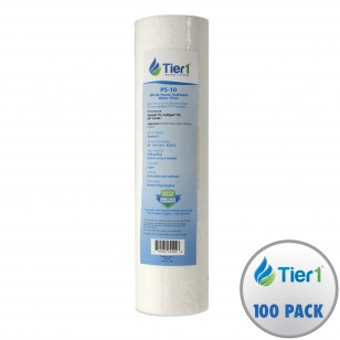 P5 Pentek Comparable Whole House Replacement Sediment Filter Cartridge by Tier1 (100-Pack)