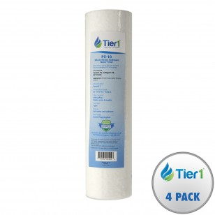 P5 Pentek Comparable Whole House Replacement Sediment Filter Cartridge by Tier1 (4-pack)