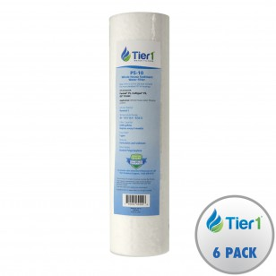 P5 Pentek Comparable Whole House Replacement Sediment Filter Cartridge by Tier1 (6-pack)