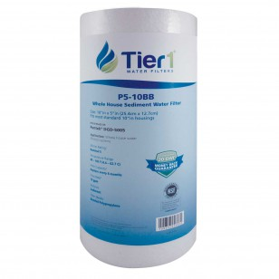 SDC-45-1005 Hydronix Whole House Replacement Sediment Filter Cartridge Comparable by Tier1