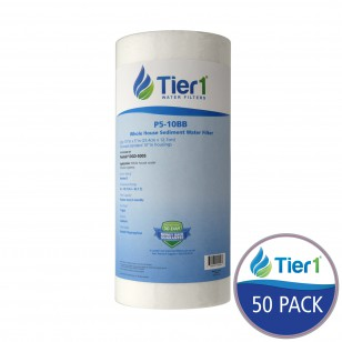Pentek DGD-5005 Polypropylene Sediment Water Filter Replacement by Tier1 (50-Pack)