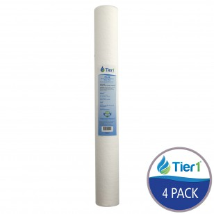 P5-20 Pentek Comparable Whole House Sediment Water Filter by Tier1 (4-Pack)